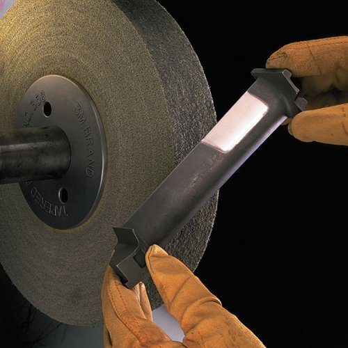 Scotch-Brite EXL Deburring Wheel, 8 in x 1 in x 3 in 8S FIN [PRICE is per WHEEL] by 3M