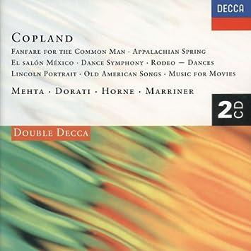 Aaron Copland : musique orchestrale et concertante 51J%2BYyd-TzL._SY355_