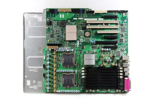 Genuine Dell MY171, F9394, DT029, HR002 Precision Workstation PWS690 Intel Dual CPU DDR2 Motherboard Logic Main System Board with Tray Compatible Part Numbers: MY171, F9394, DT029, (Xeon Cpu Motherboard)