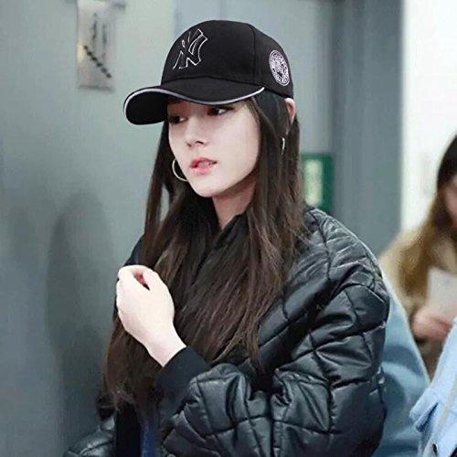 Amazon.com  Hat Ladies Cap Men Tide Wild ny Korean Fashion Summer ... 788c52703c7