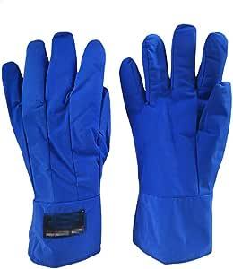 Npeiyi Lassers Gauntlet Handschoenen Cryogene Handschoenen Waterdicht Beschermende werkhandschoenen vloeibare stikstof bevroren handschoenen Cold Storage Cryo Industrial Glove Arbeid, Veiligheid water