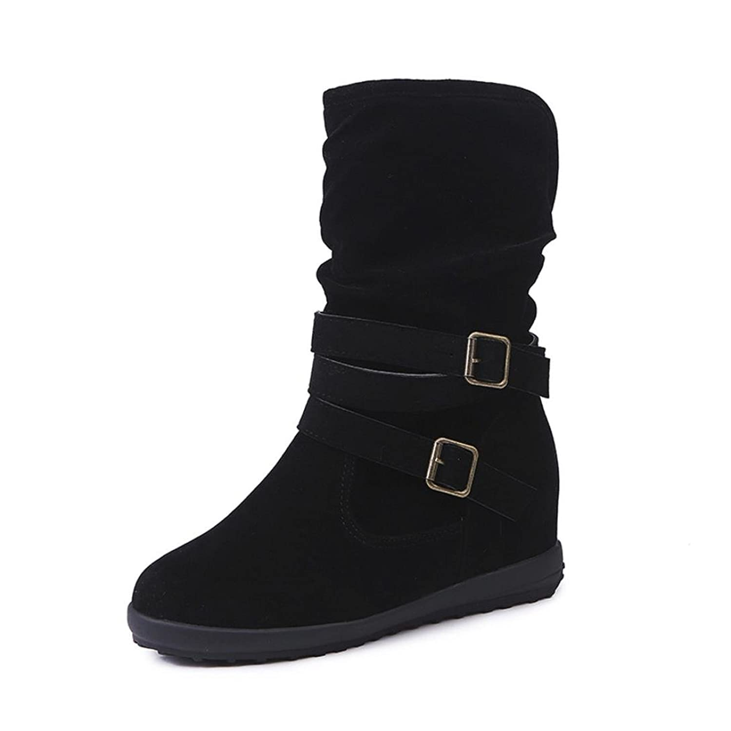 Inkach Womens Winter Boots   Knee High Slouchy Boot Shoes   High Tube Flat Riding Boots