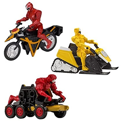Amazon.com: Power Rangers Super Ninja Steel Mega Morph ...