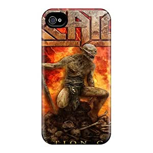 Scratch Resistant Hard Phone Covers For Iphone 4/4s (udc4374irHY) Customized HD Guns N Roses Series