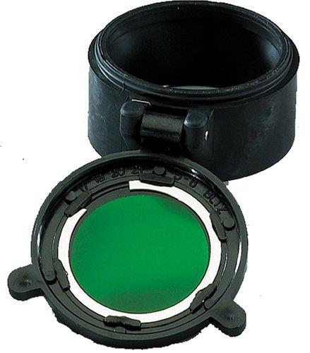 Streamlight 85117 Flip Lens for TL-2, NF-2, Scorpion, Strion Flashlights, - Lens Green Filter