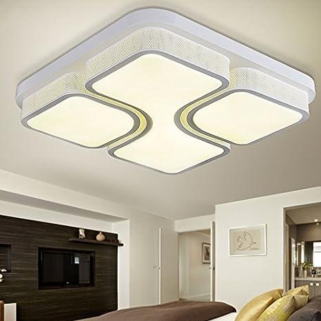 Cttsb Habitación sencilla lámpara LED lámpara de techo en ...