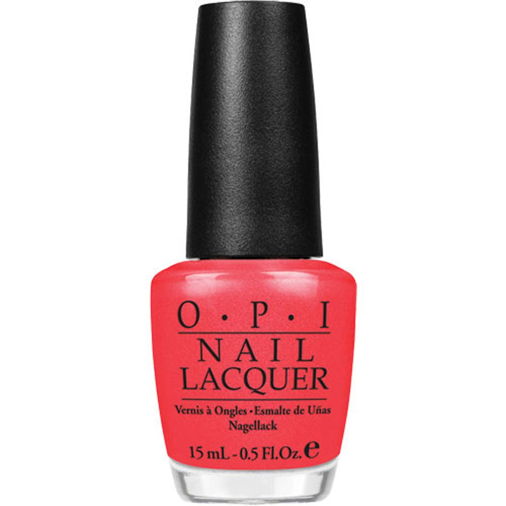 Amazon.com: OPI Nail Lacquer, Cajun Shrimp, 0.5 fl. oz.: Luxury Beauty