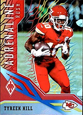2018 Panini Phoenix Adrenaline Rush Color Burst  14 Tyreek Hill Kansas City  Chiefs NFL Football a448615eb