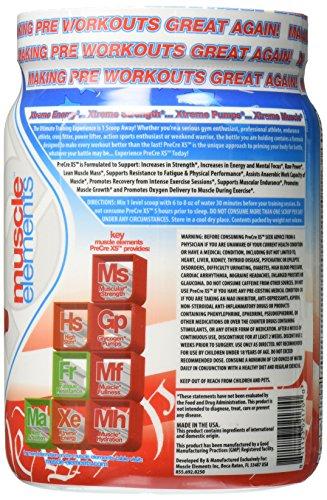 Muscle Elements Pre Cre Xs Powder, America Pop, 1.59 Pound