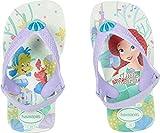Havaianas Baby Disney Princess Sandal, White 22