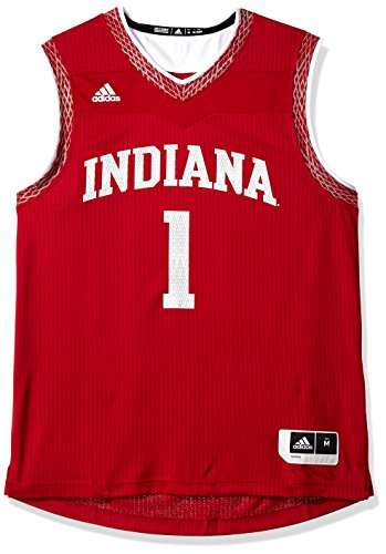 adidas Adult Men Iced Out Replica Basketball Jersey, Victory Red, ()