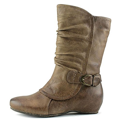 Bare Traps Womens SHELBY Round Toe Mid-Calf Riding - Bare Boots Women