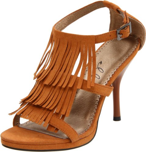 Ellie Shoes Women's 417 Sioux Dress Sandal, Brown, 7 M US from Ellie Shoes