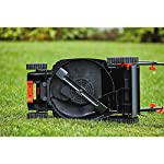 BLACK+DECKER Electric Lawn Mower, 10 -Amp, 15-Inch (BEMW472BH) 25 IMPROVED ERGONOMICS: Comfort grip handle makes the lawn mower easy to maneuver BETTER CLIPPING COLLECTION: Our winged blade achieves 30% better clipping collection NO MORE PULL CORDS: Push-button start makes starting the lawn mower a breeze