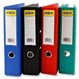 Premier Stationery D2050333 A4 Lever Arch File Durable PP Cover - Multi-Colour (Pack of 20)