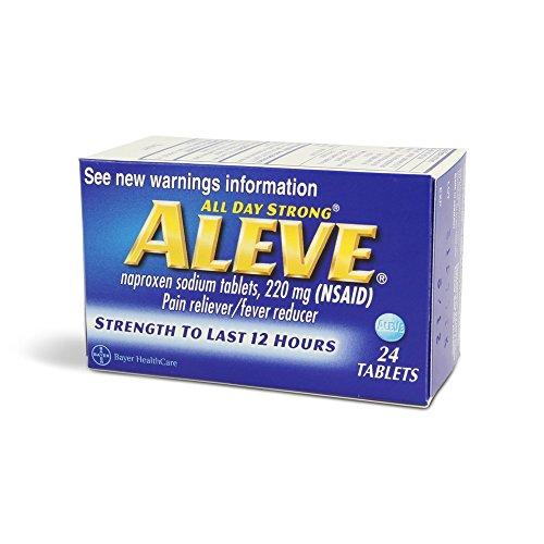 Aleve Tablets 24 Tb (Aleve Cold Medicine)