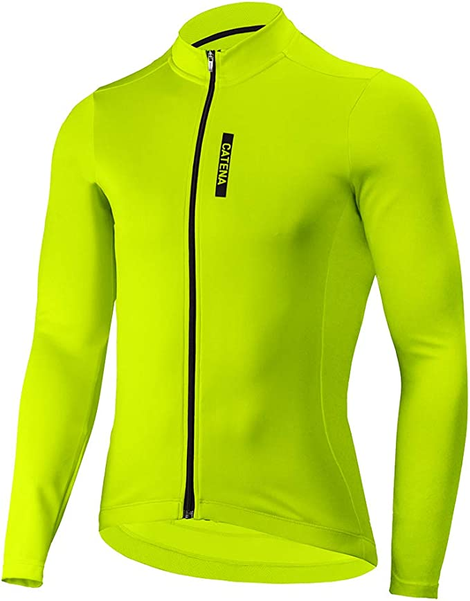 Mens Lightweight Long Sleeve Running Top Moisture Wicking Sports T Shirt