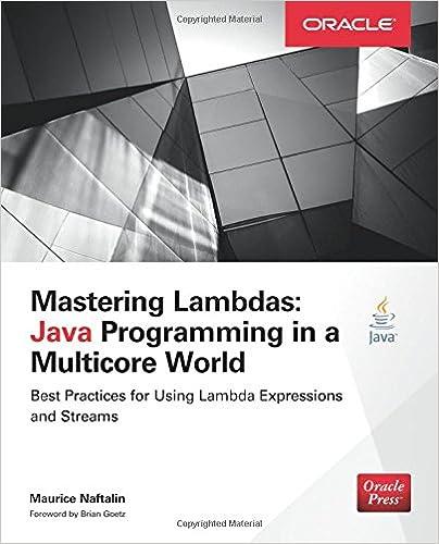 Mastering Lambdas: Java Programming in a Multicore World