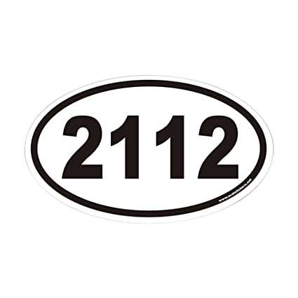 Cafepress 2112 euro oval sticker oval bumper sticker euro oval car decal