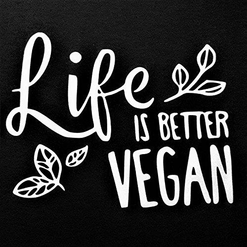 Chase Grace Studio Life Is Better Vegan Vinyl Decal Sticker|WHITE|Cars Trucks SUVs Vans Laptops Walls Glass Metal|5.5