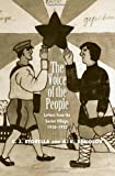 The Voice of the People : Letters from the Soviet Village, 1918-1932, , 0300112335