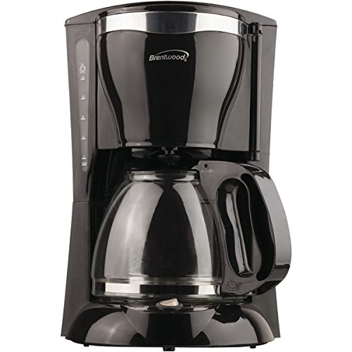 Brentwood TS-217 Appliances 12 Cup Coffee Maker, Black