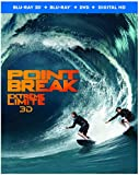 Point Break [Blu-ray 3D + Blu-ray + DVD + Digital Copy] (Bilingual)