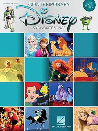 Contemporary Disney: 50 Favorite Songs (Piano-vocal-guitar ...