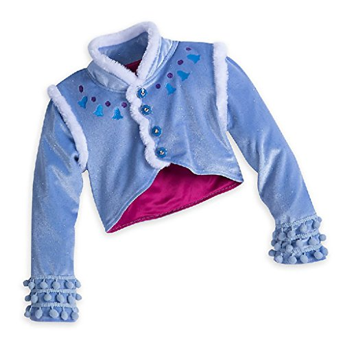 DreamHigh Halloween Princess Anna Costume Girl's Dress with Coat 2pcs 10 by DreamHigh (Image #2)