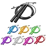 Acf Attack Jump Rope with Aluminum Handles - Jump Rope for Double...