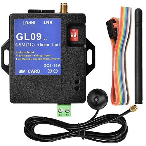 Cosiki Summer Surprise GSM Alarm, SMS Alarm System, Electronic Black Monitoring Projects Remote Unmanned Sites Security…