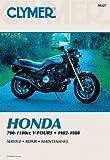 Clymer Honda 700-1100Cc V-Fours 1982-1988: Service, Repair, Maintenance