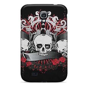Premium MsCUQDO5375mFGUM Case With Scratch-resistant/ Skulls Case Cover For Galaxy S4