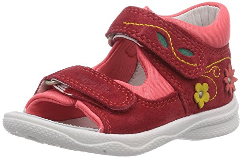 big sale 0f06f a206e Superfit POLLY 400096 Baby Mädchen Sandalen Rot LIP KOMBI 67 ...