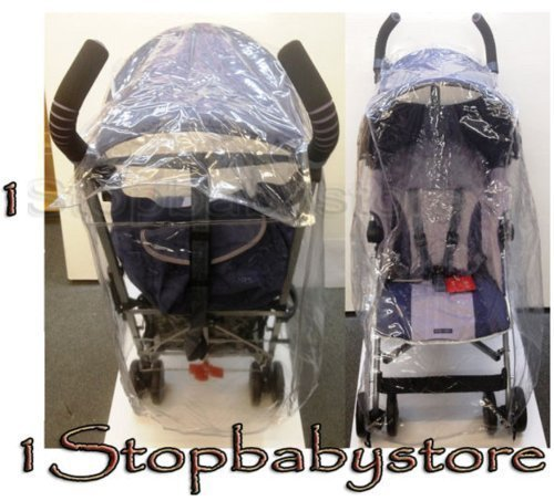 1Stopbabystore NEW UNIVERSAL STROLLER RAIN COVER SILVER CROSS POP MACLAREN XLR XT HAUCK TURBO TORO CHICCO LITEWAY RAINCOVER FIT MOST
