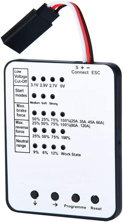 Ktyssp Programming Card for RC Car ESC Brushless Electronic Speed Controller Professional Accessories