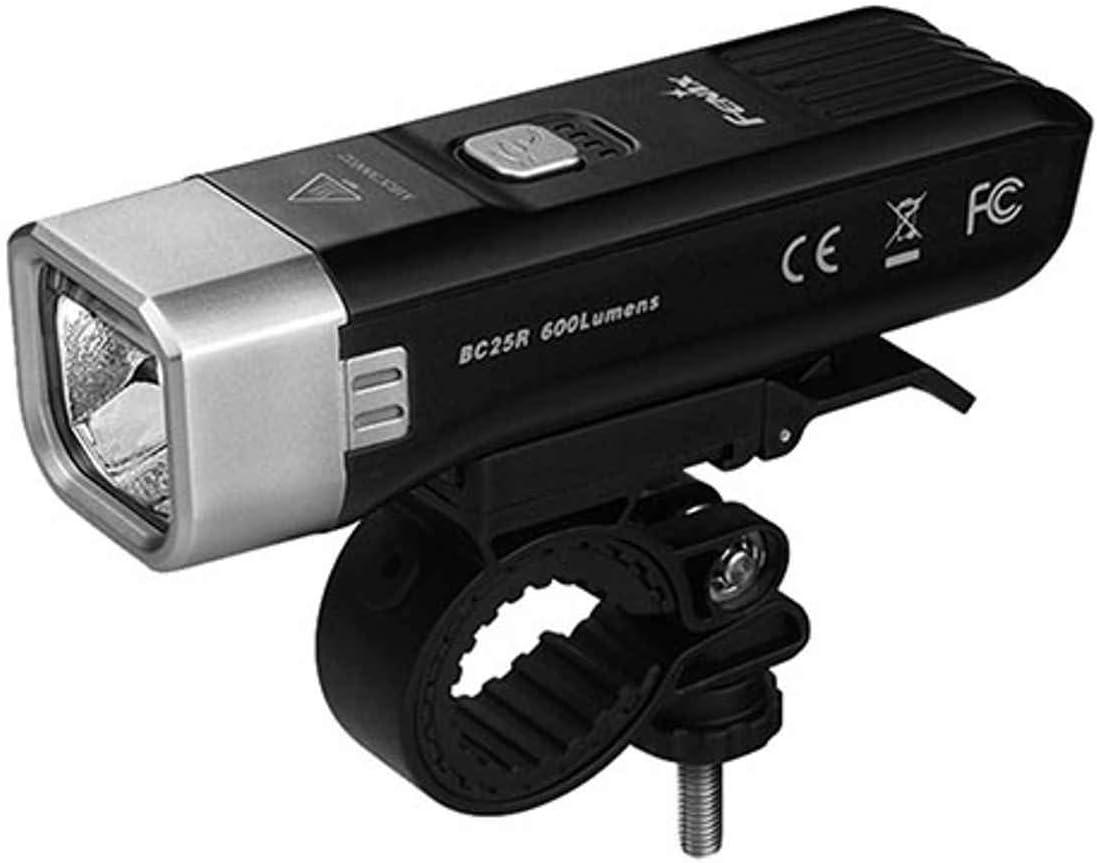 Small fenix Unisexs BC25R Rechargeable Commuter Bike Light Black