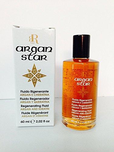 Regenerating Fluid - Rr Line Argan Star Regenerating Fluid with Argan and Keratin 2.02 Oz - Free Starry Lip Plumping Gloss 10ml