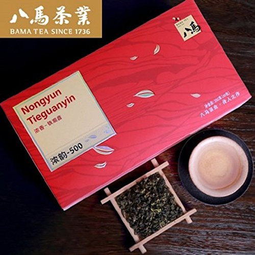 Bama Tea Chinese Oolong Tea AnXi Tieguanyin Nongxiang tea 250g八马茶叶浓香铁观音乌龙茶家庭装 by Yichang Yaxian Food LTD.