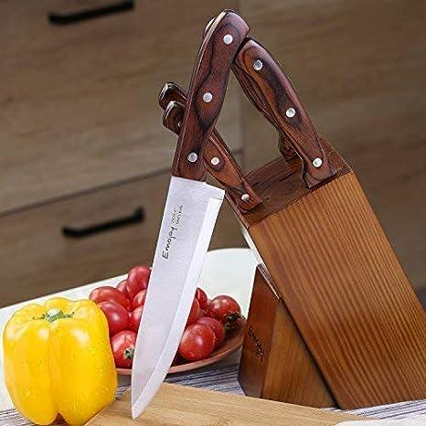 Amazon.com: Juego de cuchillos, 15 piezas Juego de cuchillos ...
