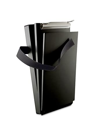 Saunders Black Recycled Aluminum Citation Holder U2013 Eco Friendly Office  Supply, Corrosion Resistant Lightweight Clipboard