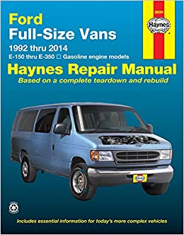 1996 ford e350 van owners manual