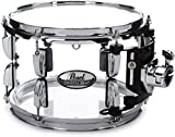 "Pearl Crystal Beat Rack Tom - 10"", Ultra Clear"