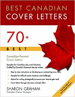 Best Canadian Cover Letters Sharon Graham 9781896324456