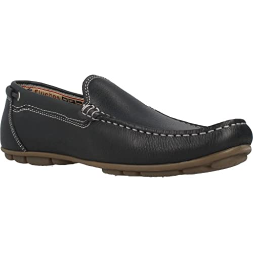 Fluchos Mocasines Para Hombre, Color Negro, Marca, Modelo Mocasines Para Hombre 9083F Negro: Amazon.es: Zapatos y complementos