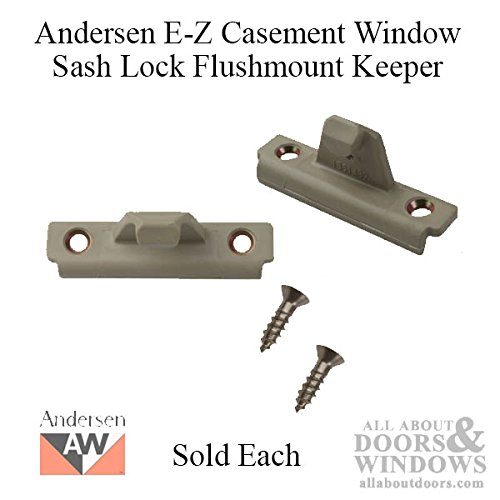 (Andersen Keeper, sash Lock, E-Z Casement)