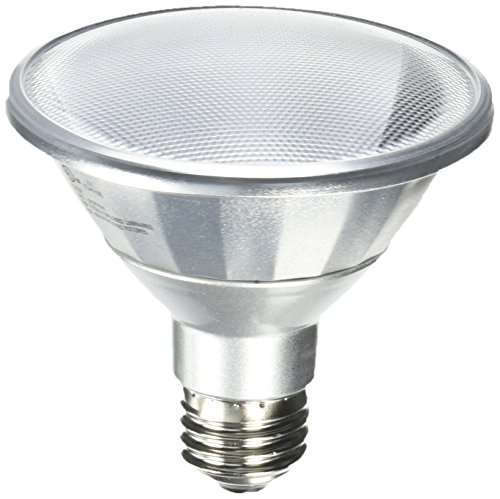 Bulbrite LED13PAR30S/NF25/840/WD 50W Halogen Equivalent - Medium (E26) Base - Narrow Flood - 13W Dimmable Wet Rated Outdoor/Indoor LED PAR30 Short Neck Reflector Bulb, Cool White (Base Narrow)