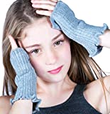 New York Black Fun, Playful Cool Fingerless Hand Warmers, Gloves, Mittons KD dance New York Summer Is Here Made In USA