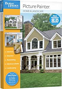 Better homes and gardens picture painter home landscape software for Better homes and garden landscape design software