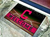Cleveland Indians Door Mat 18x30 Welcome Crumb Rubber